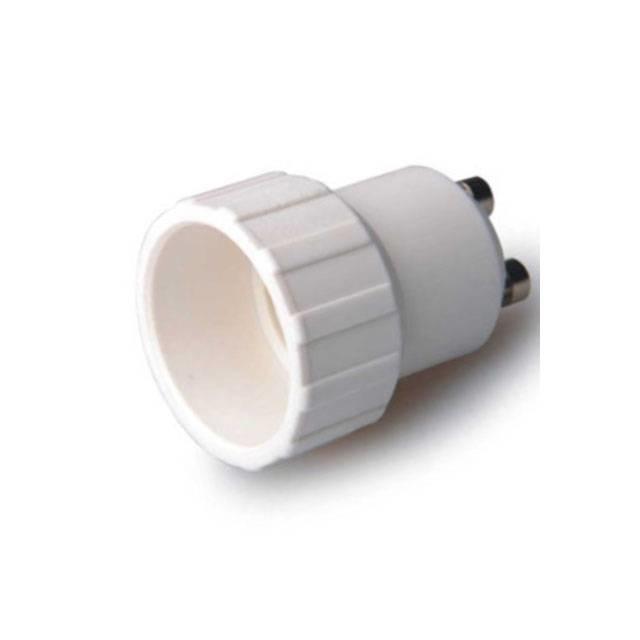 Verloopfitting GU10 naar E14 wit max. 60W-LL242106-5901583242106