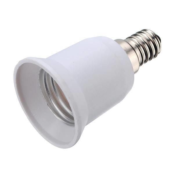 Verloopfitting E14 naar E27 wit max. 60W-LL242052-5901583242052