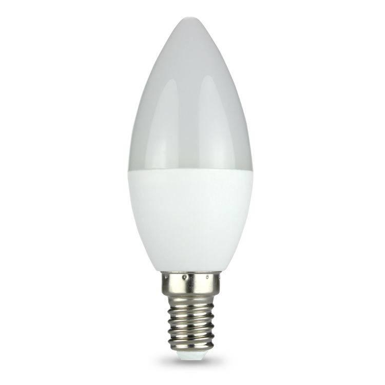 LED kaarslamp - E14 fitting - 3W vervangt 25W - Warm wit licht 3000K-AR175849-8433325175849