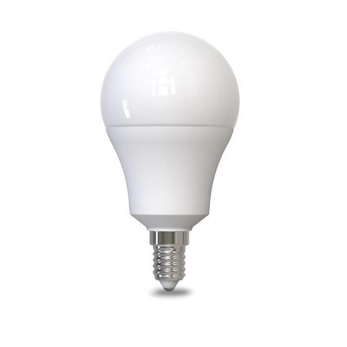 LED lamp - E14 fitting - 6W vervangt 50W - Warm wit licht 3000K