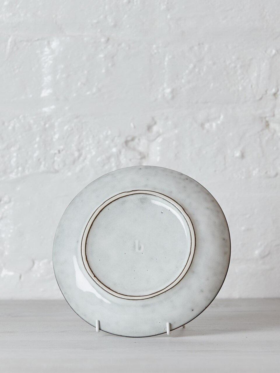 Broste Copenhagen Ontbijtbord/lunchbord Nordic Sand - ø20cm - set van 4-14533018-5710688040674