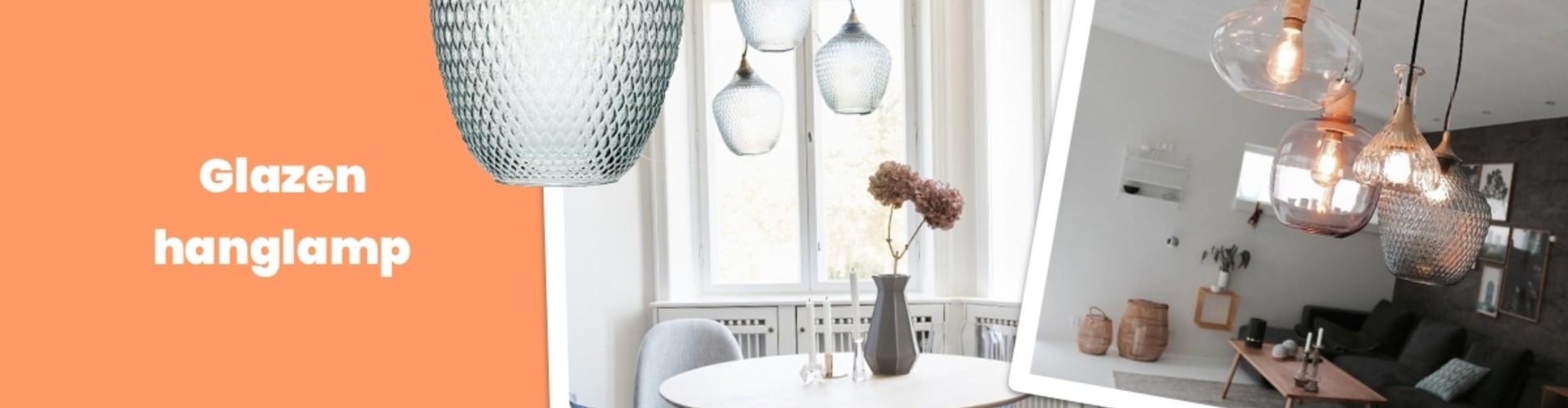Trend alert: glazen hanglamp