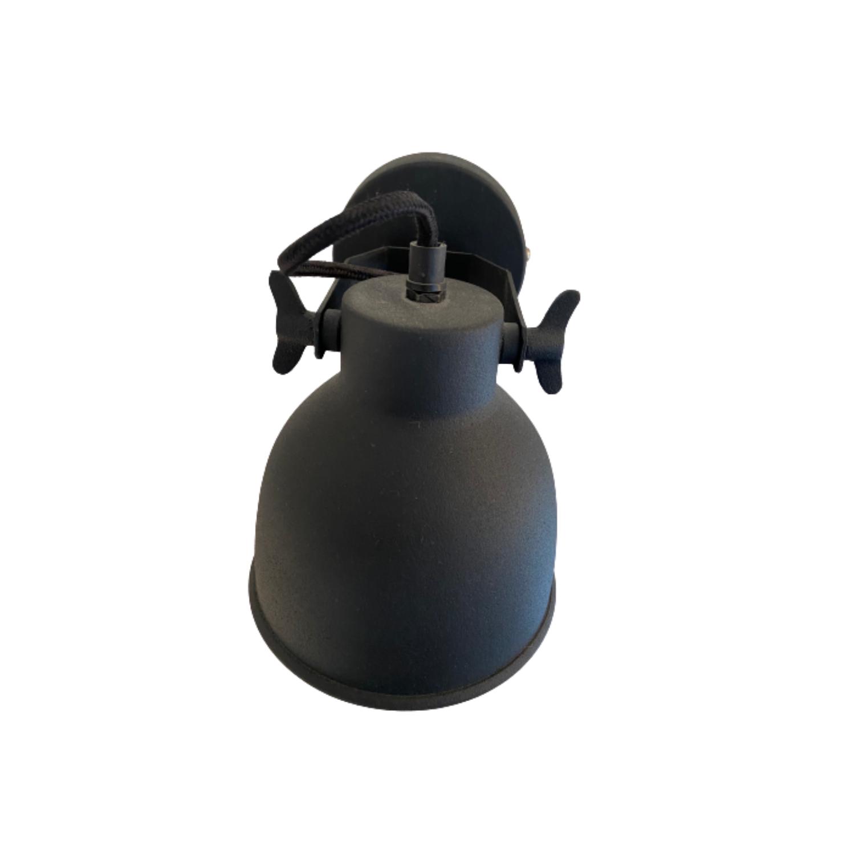 Urban Interiors Wandlamp zwart metaal-AI-WL-07-VB-8718868314413