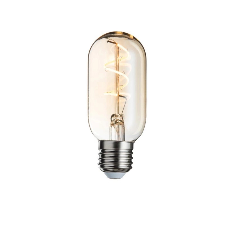 J-line Ledlamp Amber T45 Spiral E27-78822-5415203788221