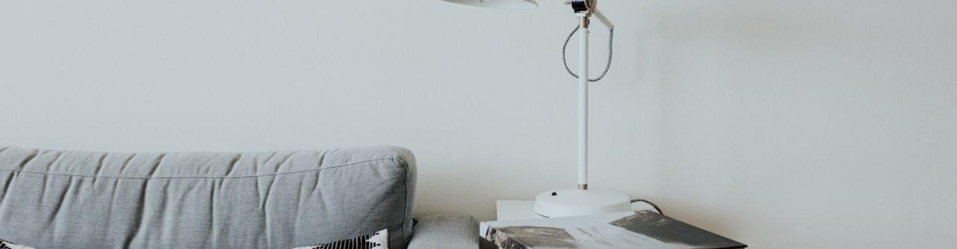 Kies een witte lamp voor een neutrale uitstraling