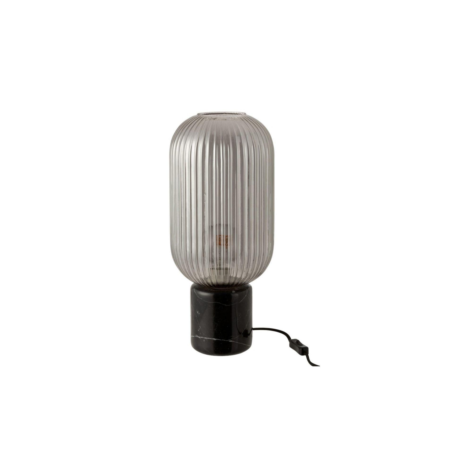 J-line Tafellamp Yufo marmer lang