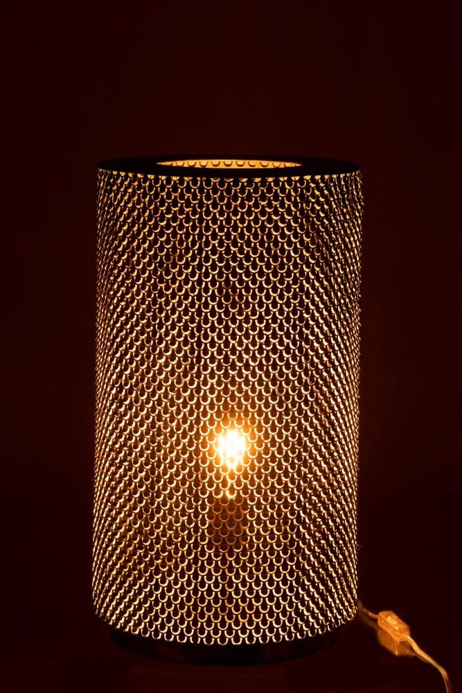 J-line Tafellamp Haakjes Metaal Zwart