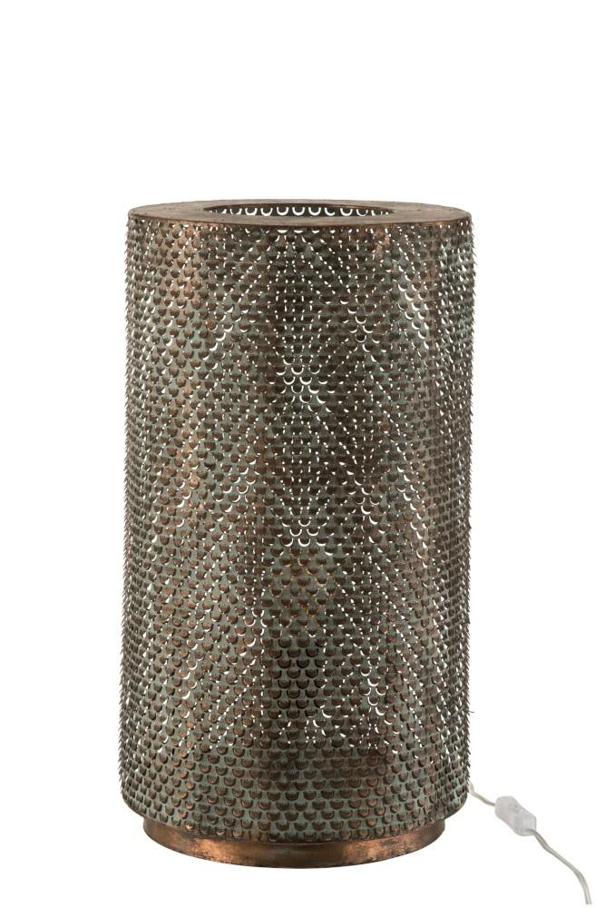 J-line Tafellamp Oosters goudkleurig - ø30,5 cm-7679-