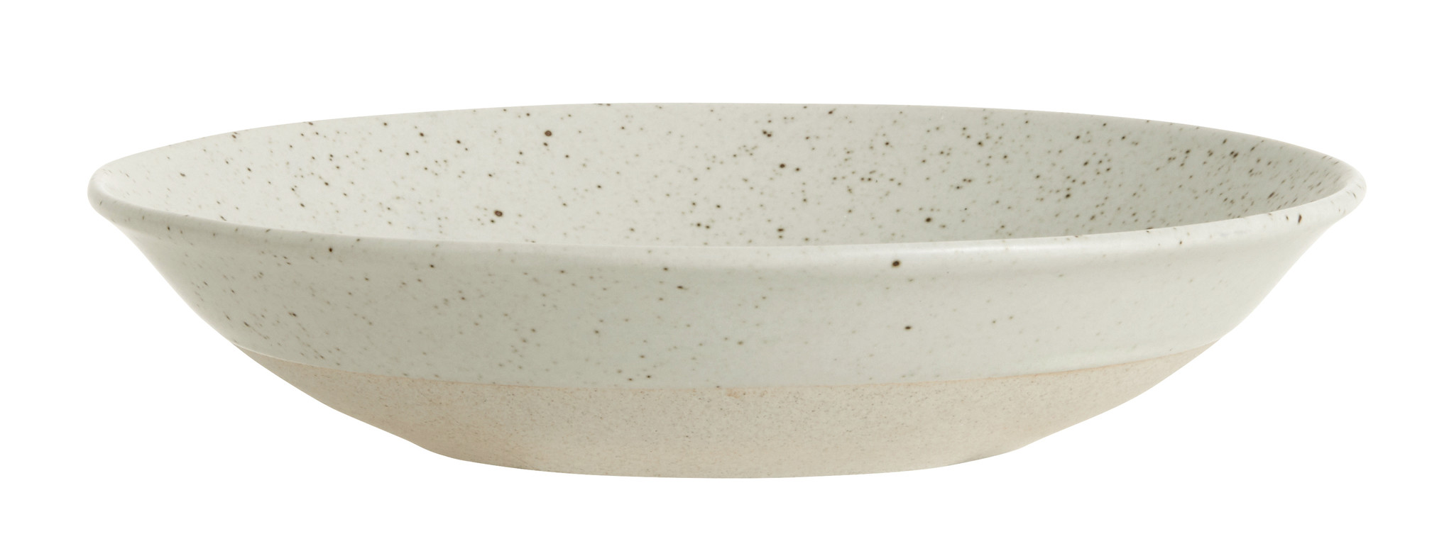 Nordal Grainy diep bord ø 22,5 cm - zandkleur- 57010-5708309157429