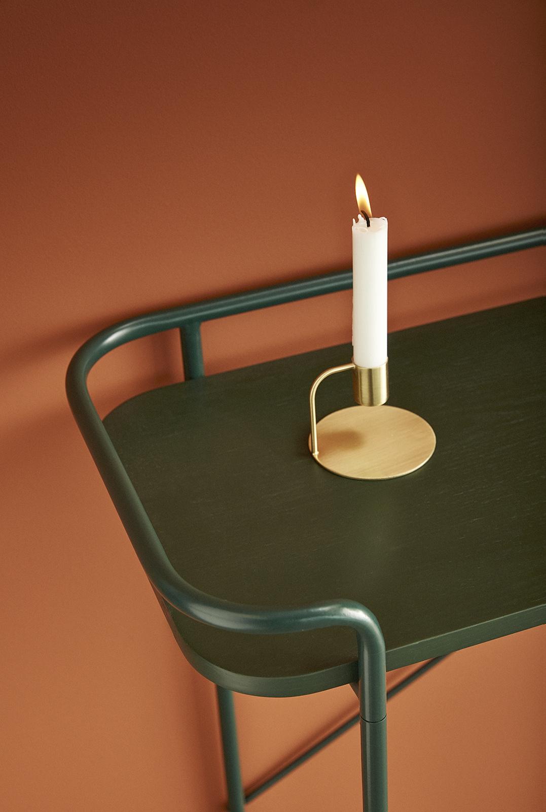 Hubsch Console tafel, metaal, groen