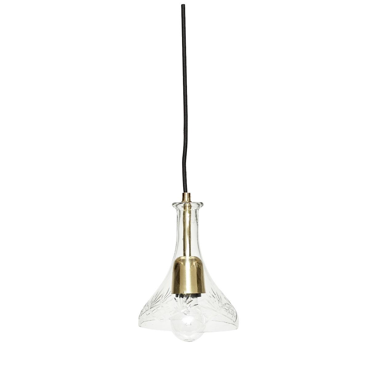 Hubsch hanglamp Verre-400128-