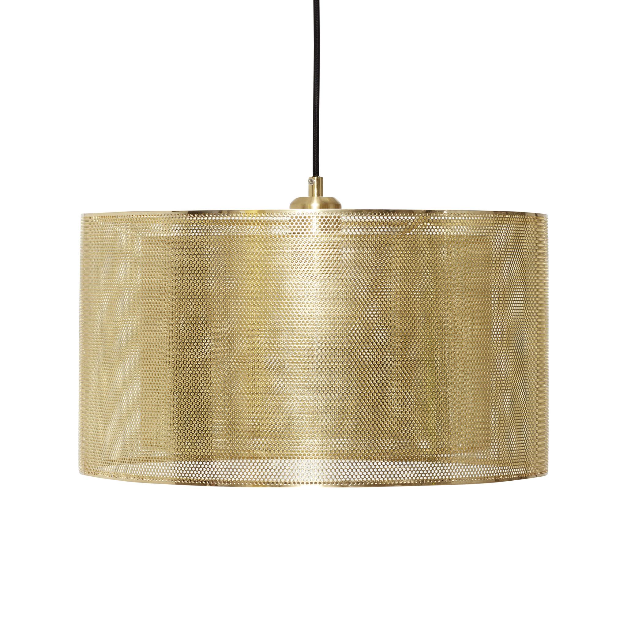 Hubsch Hanglamp ijzer messing/goud-990727-5712772067505