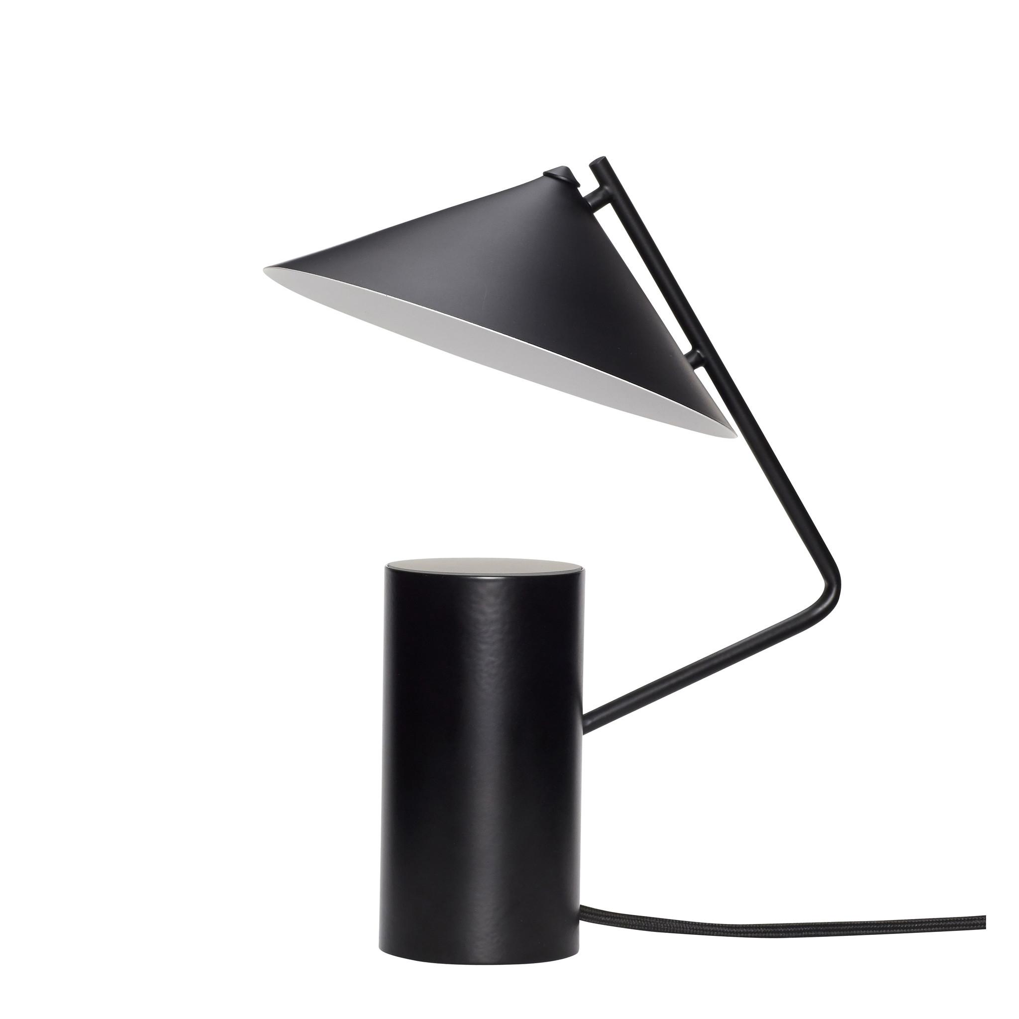 Hubsch Tafellamp zwart, metaal-991204-5712772102169