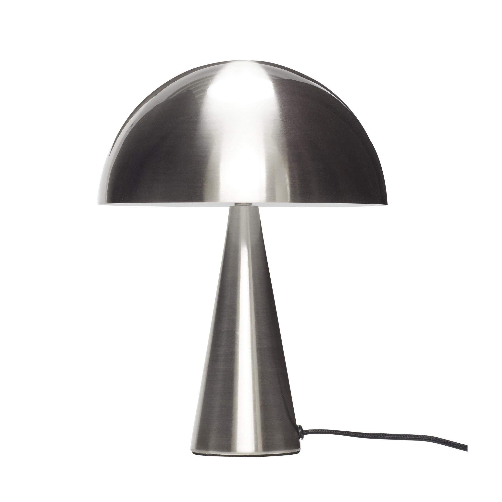 Hubsch Tafellamp metaal/nikkel klein-991109-5712772072578