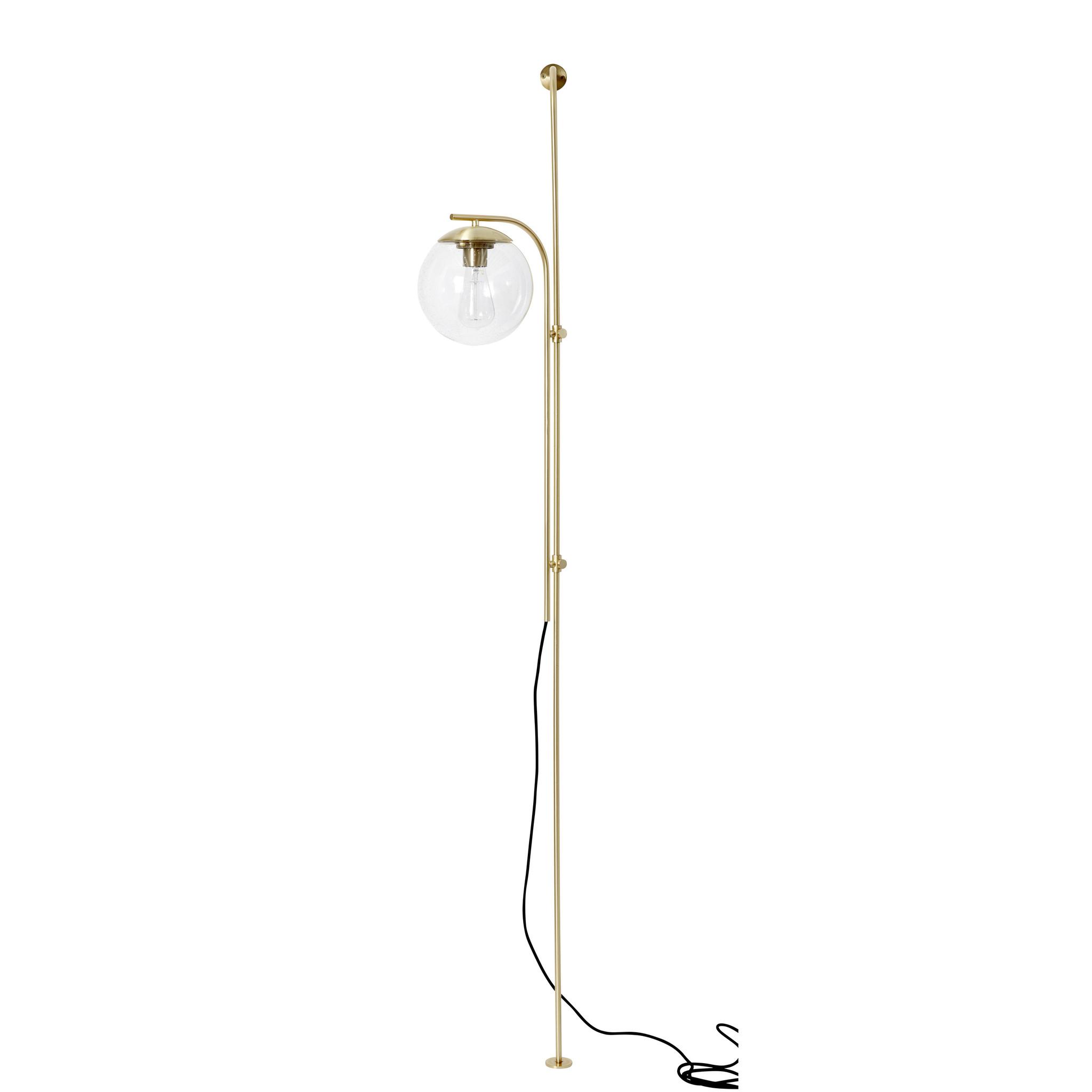 Hubsch Wand lamp metaal/glas-991210-5712772102374