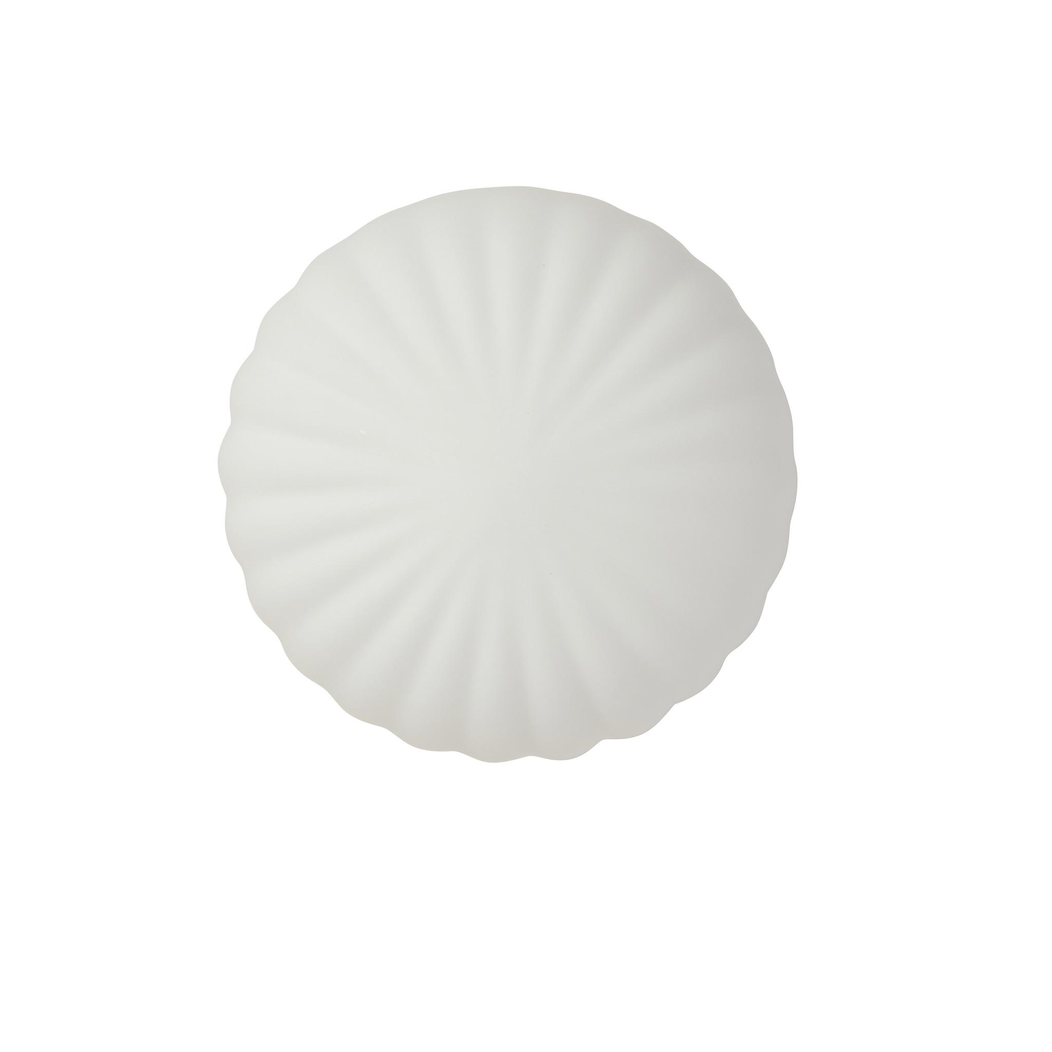 Hubsch Wandlamp metaal/glas, messing/opaal ø 18 cm