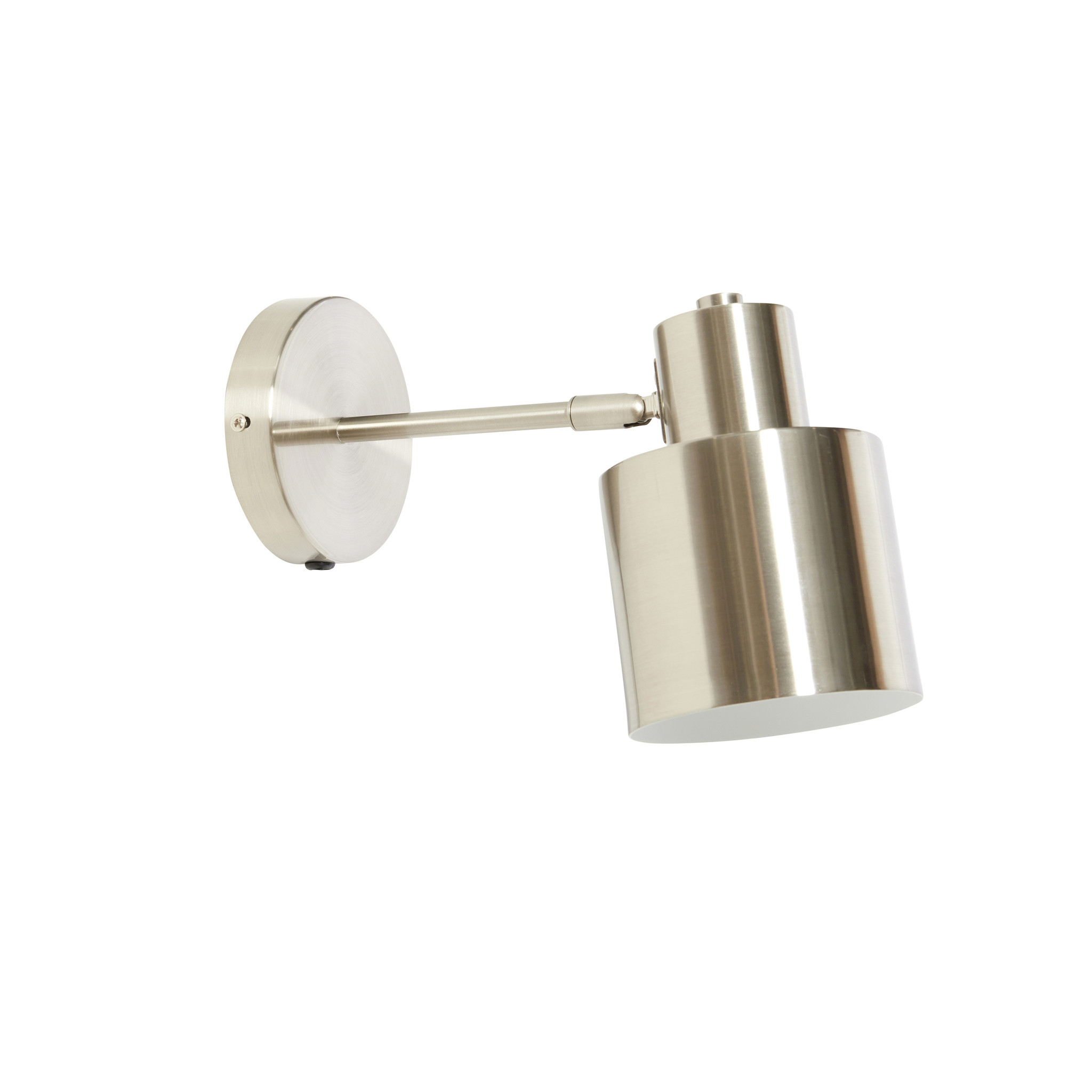 Hubsch Wandlamp nikkel-991323-
