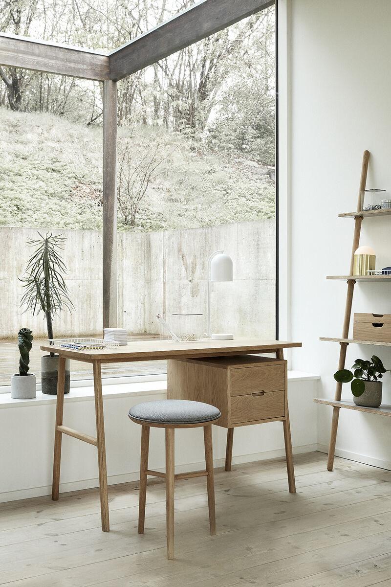 Hubsch Dienblad, metaal, wit, set van 3-210505-5712772055915