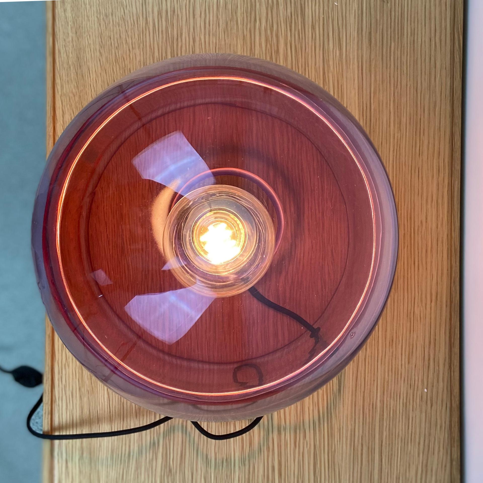 Hubsch Tafellamp 990909 ø27 x 29 cm E27/40W Blauw/Roze