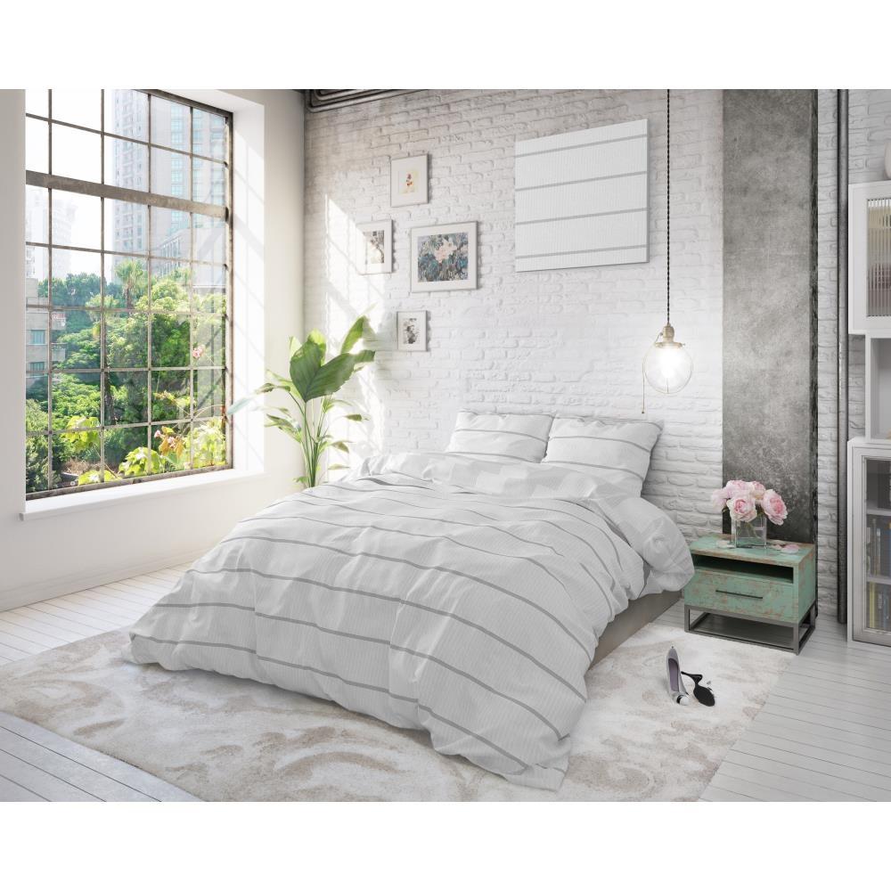 Dreamhouse Dekbedovertrek Amira White - 240x220cm--8720105617867