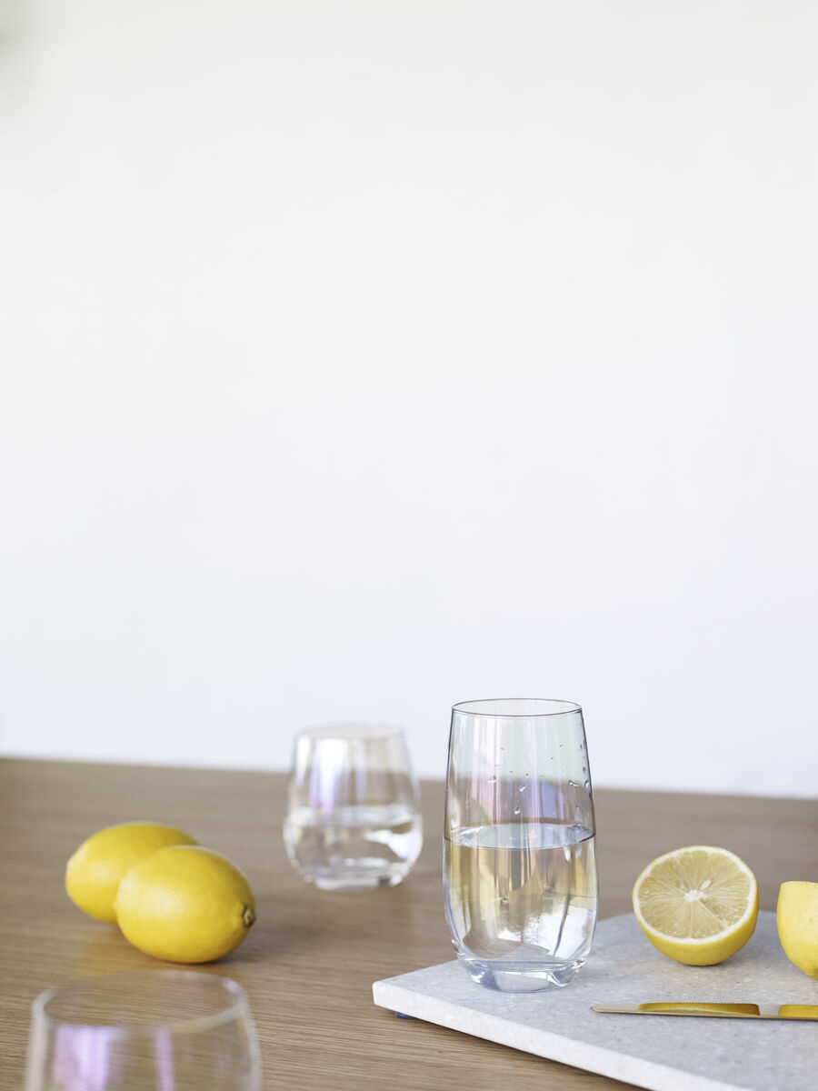 Hubsch Drinkglas, Iriserend-660808-5712772068250