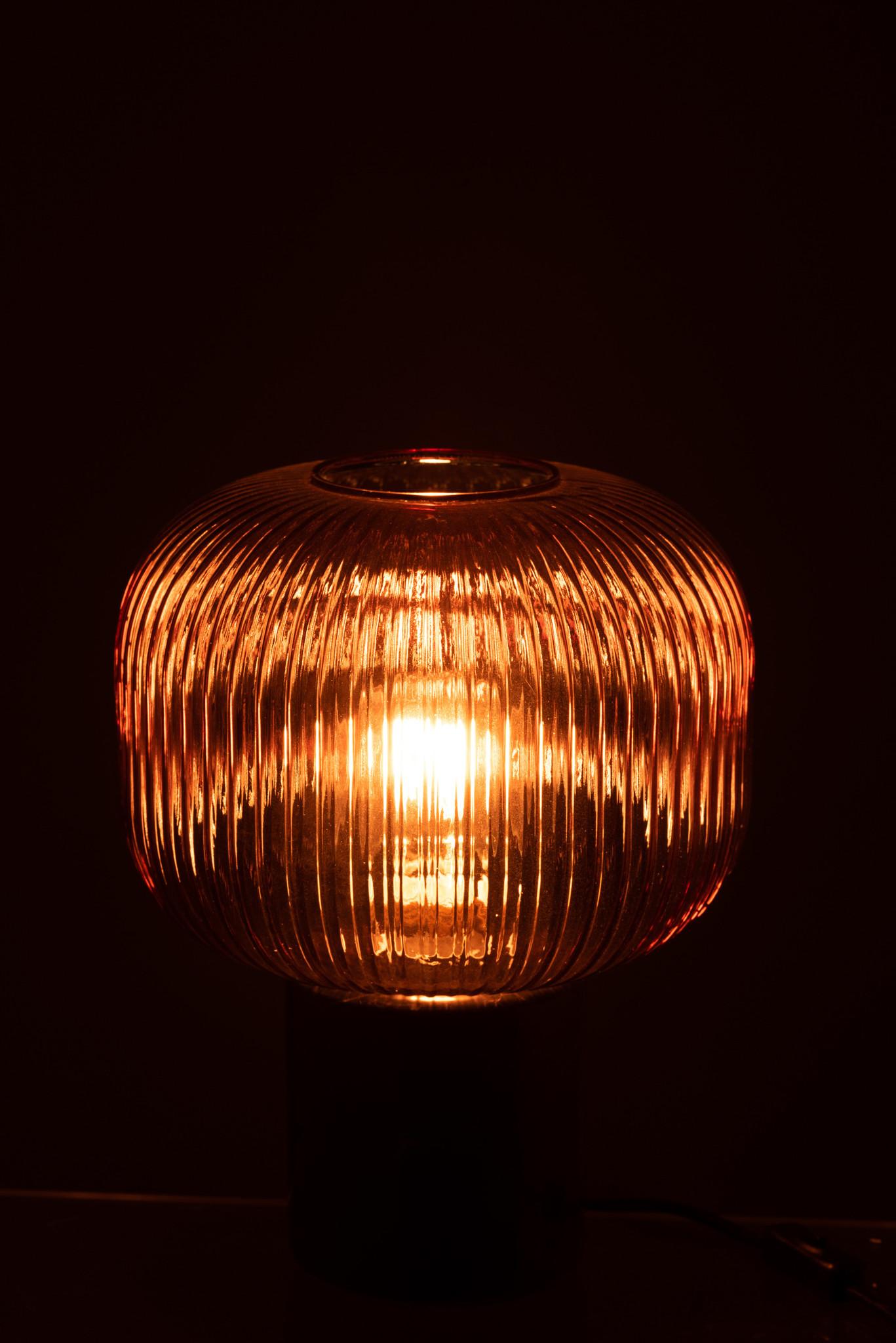 J-line Tafellamp Yufo rood-5746-5400924057466