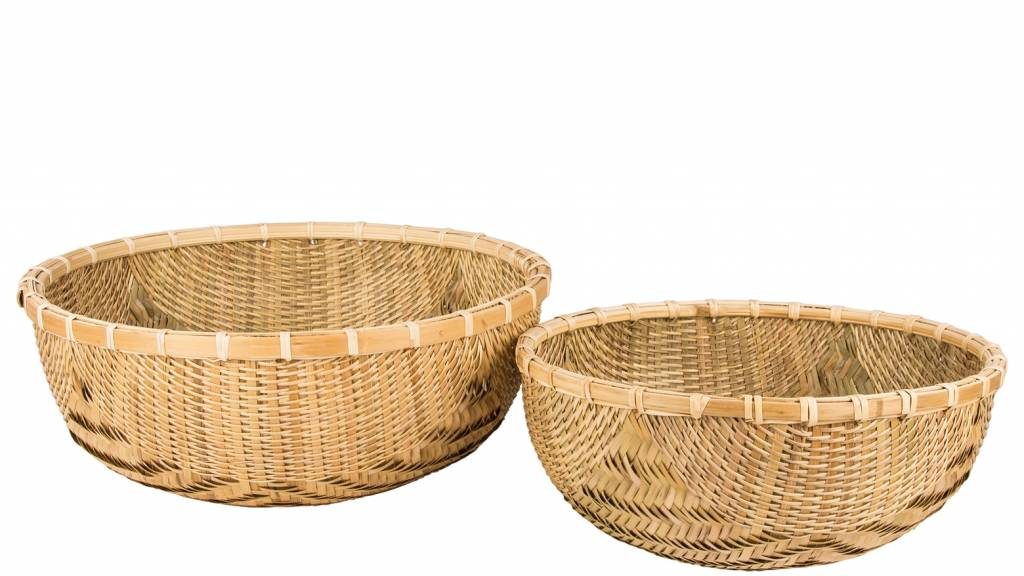 Broste Copenhagen mand 'Natan' bamboe rond-14420219 - S-5710688030743