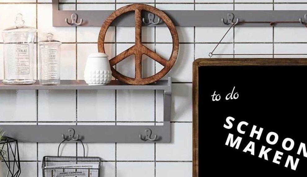 Maak jouw krijtbord ook snel en makkelijk schoon