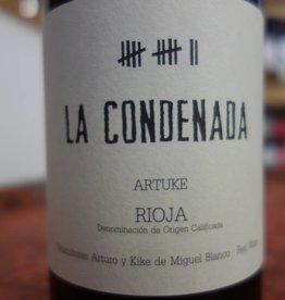 Bodegas Artuke, Rioja, Spain La Condenada 2015 Rioja, Artuke