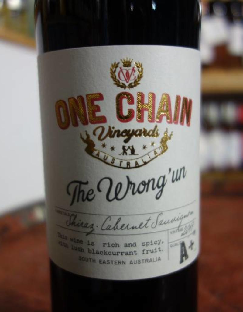 Australian Wine The Wrong Un Shiraz Cabernet Sauvignon, One Chain Vineyards