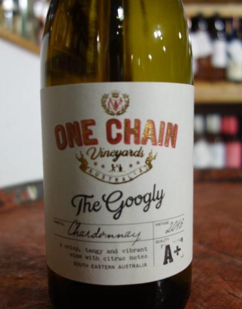 Australian Wine The Googly Chardonnay, One Chain Vineyards