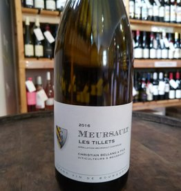 2016 Meursault Les Tillets, Christain Bellang
