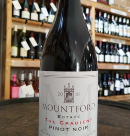 Gradient Pinot Noir 2010 , Mountford Estate