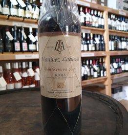 Martinez Lacuesta Rioja 2009 Martinez Lacuesta Gran Reserva Rioja