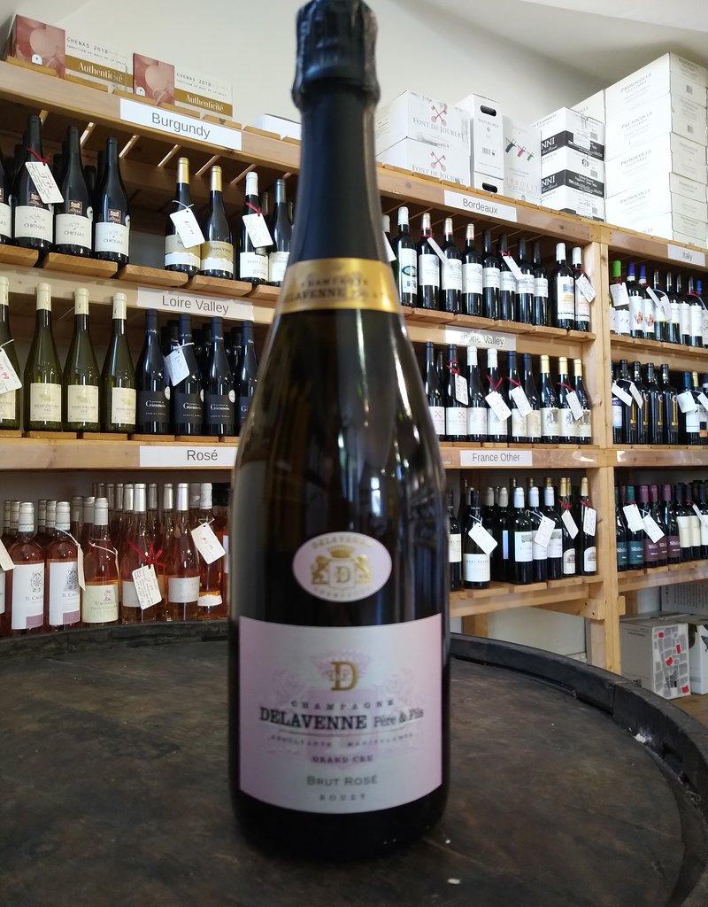 Rose Grand Cru Champagne, Delavenne Père et Fils