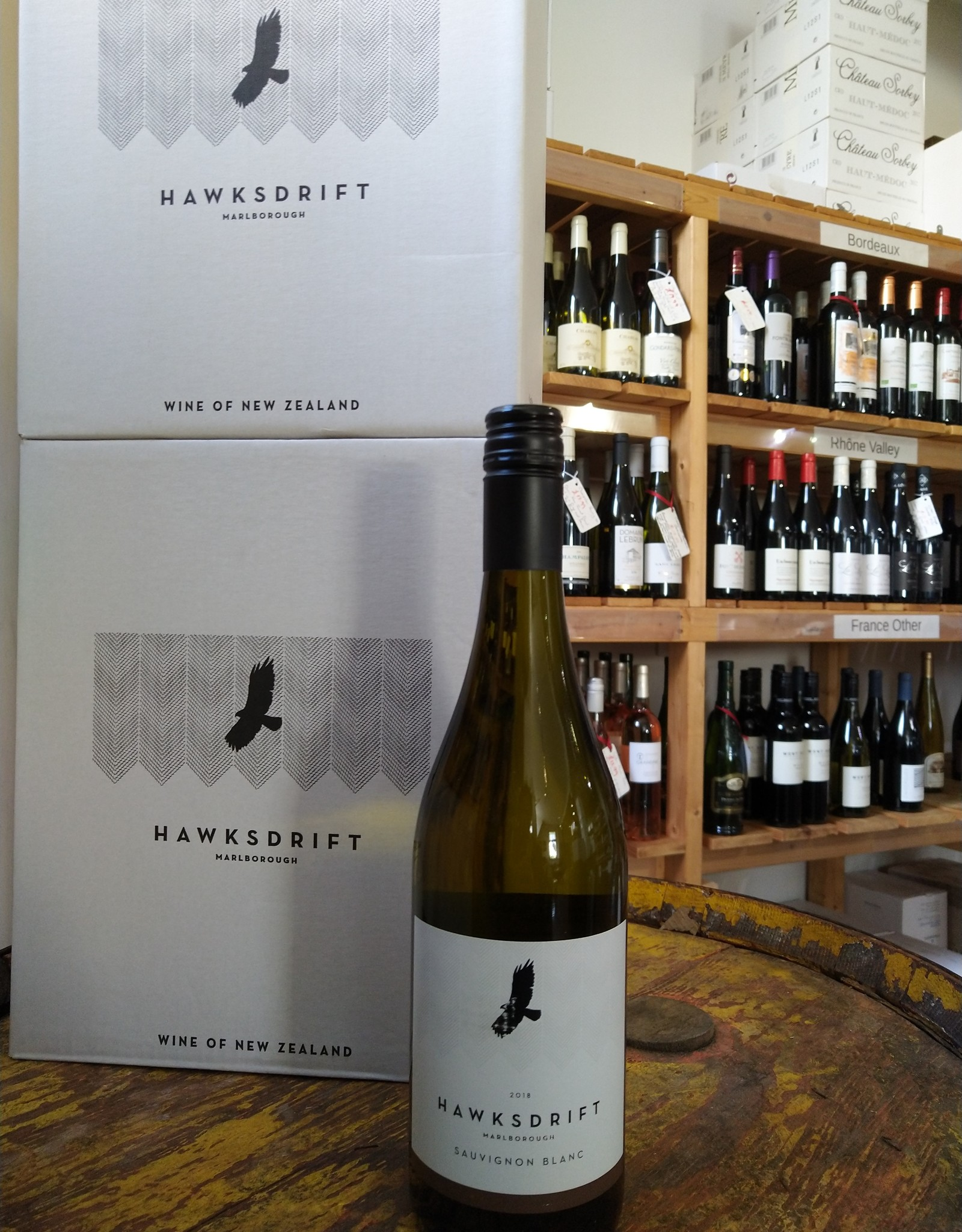 Vindependents Case Deal £120 - 12 x Hawksdrift Sauvignon Blanc, Usually £191.88