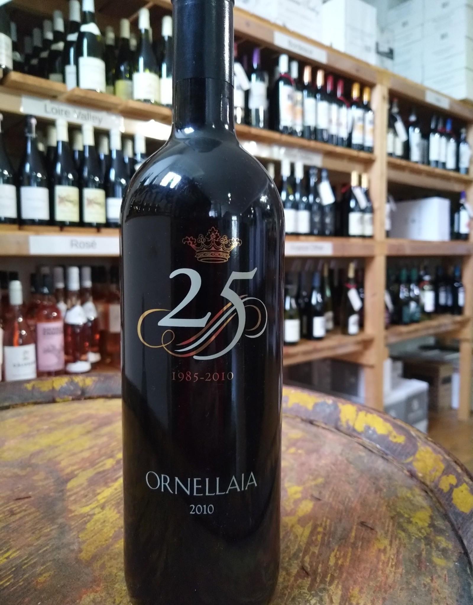 """2010 Ornellaia """"La Celebrazione"""" 25th Anniversary Bottle"""