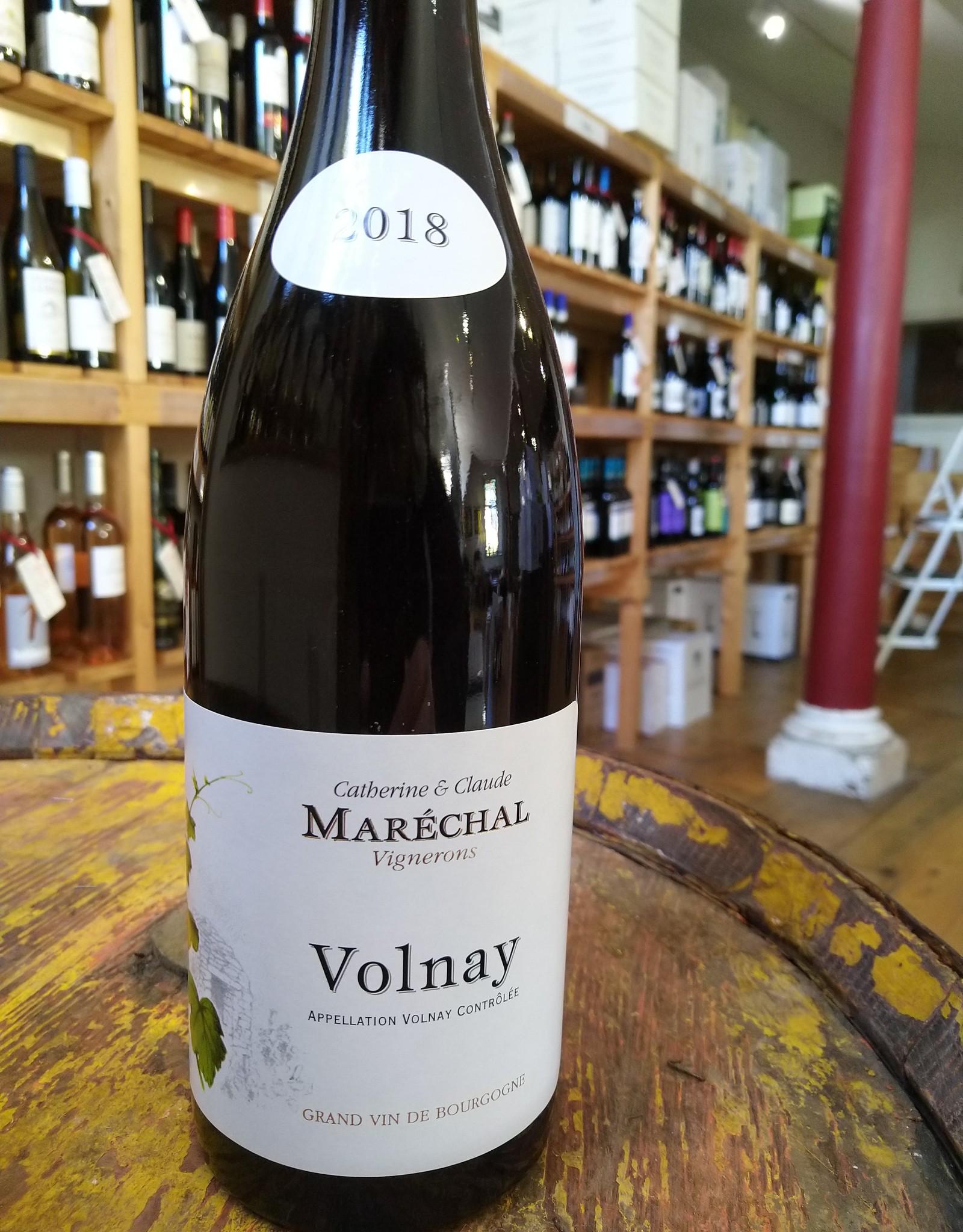 Domaine Catherine et Claude Marechal Volnay 2018
