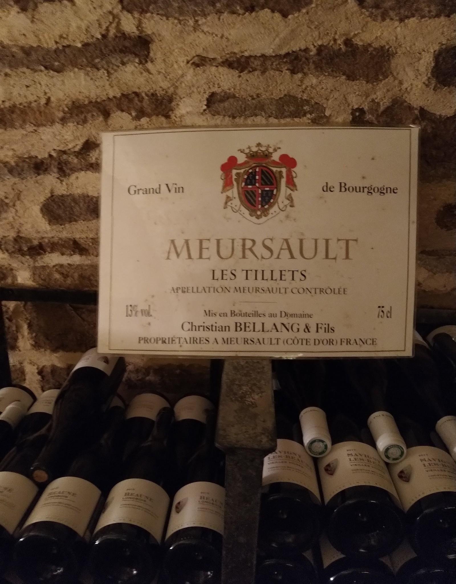2017 Meursault Les Tillets, Christian Bellang