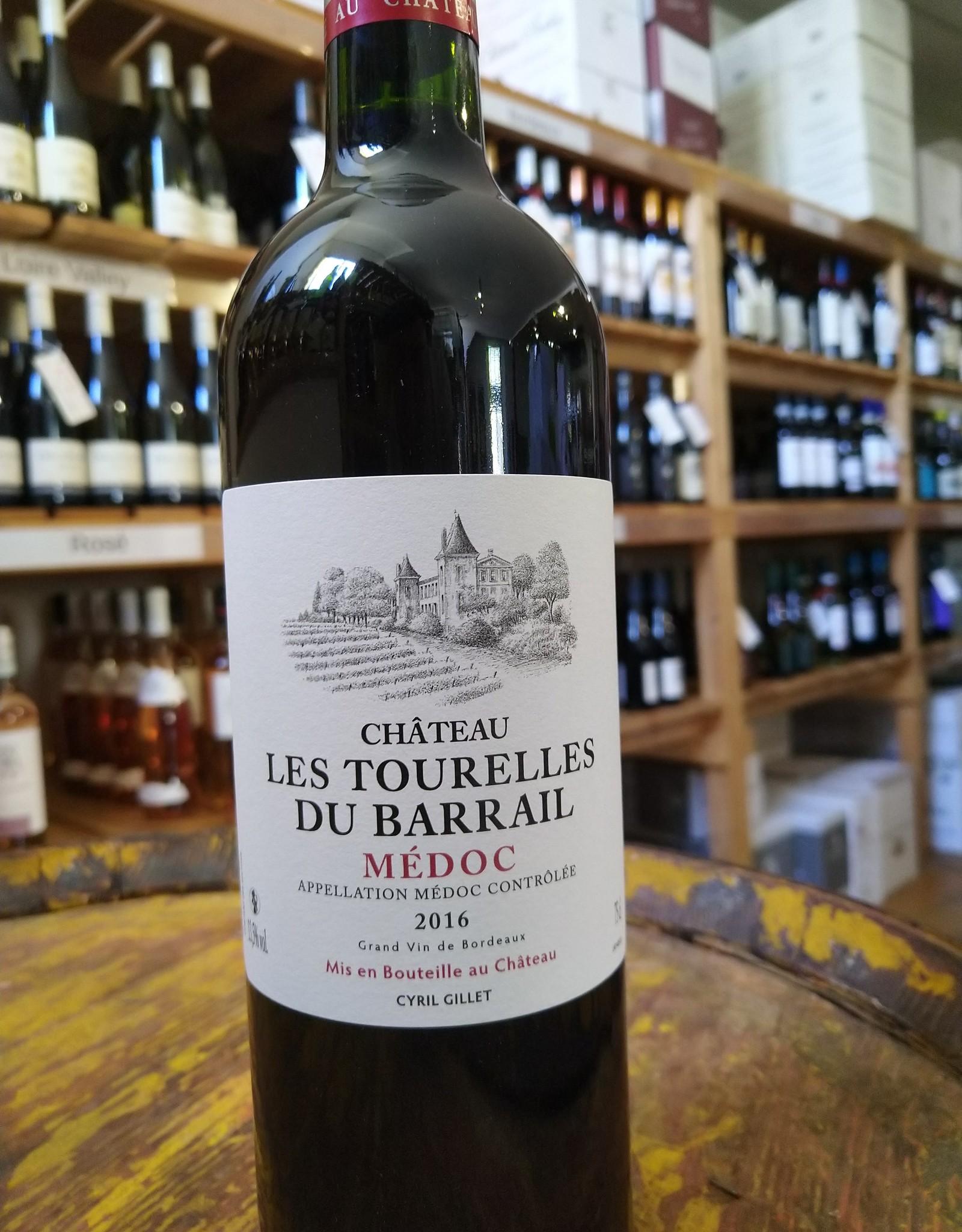 2016 Chateau Les Tourelles du Barrail Medoc