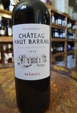 2014 Chateau Haut Barrail Medoc, Bordeaux