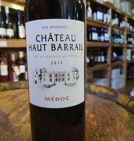 Chateau Haut Barrail 2014 Medoc, Bordeaux
