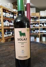 2019 Solaz Tempranillo, Organic