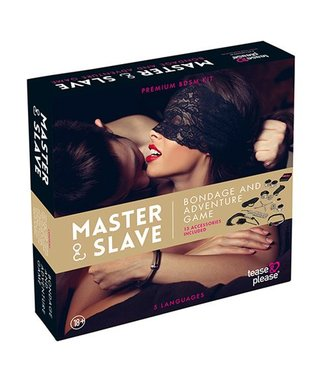 Tease & Please Master & Slave Bondagespel - Beige