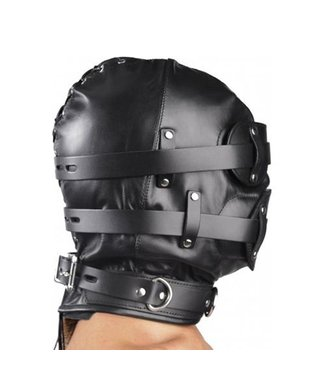 Strict Leather Total Lockdown Lederen Hoofdmasker