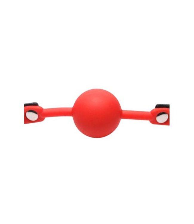 Frisky Siliconen knevel rood