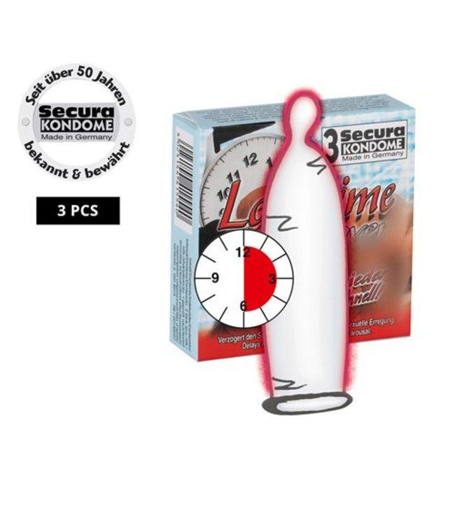 Secura Kondome Longtime Lover Condooms -3 Stuks