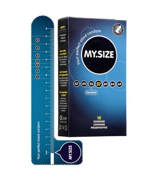 My.Size MY.SIZE 57 mm Condooms 10 stuks