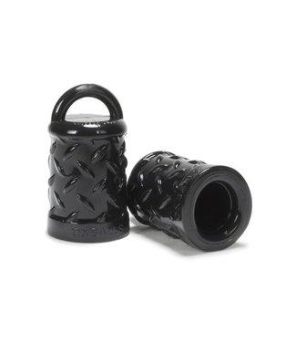 Oxballs Zwarte Tepelzuiger met Structuur