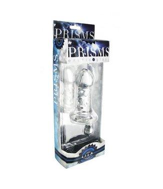Prisms Erotic Glass Lila Glazen Buttplug